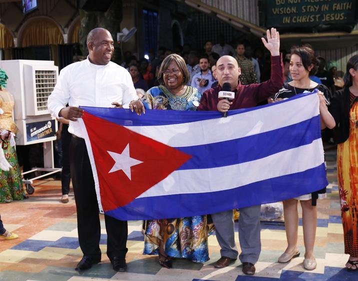 DELEGACIÓN DE CUBA