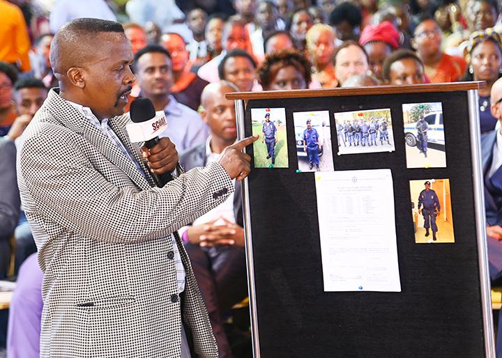 Captain Mbhalati Simon Kita {Promotion in S.A Police} (1)