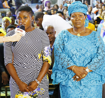 SEGIRA IBRAHIM & MOTHER {DELIVERANCE}