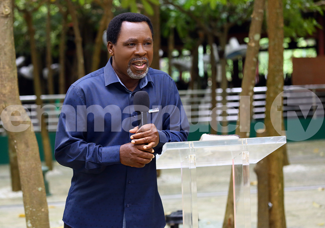GOD'S SERVANT, PROPHET TB JOSHUA, CALLED HOME TO GLORY                      (JUNE 12th 1963 to JUNE 5th 2021)