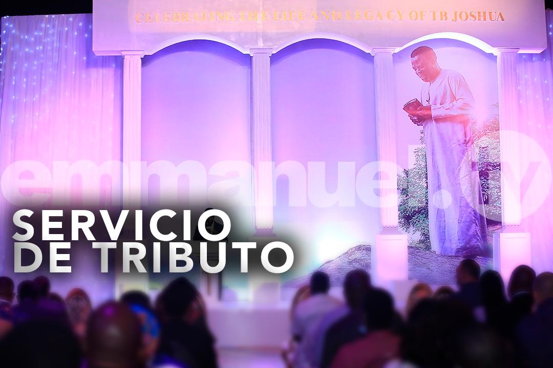CELEBRANDO LA VIDA Y EL LEGADO DEL PROFETA T.B. JOSHUA (12 DE JUNIO 1963 -5 DE JUNIO 2021): SERVICIO DE TRIBUTO